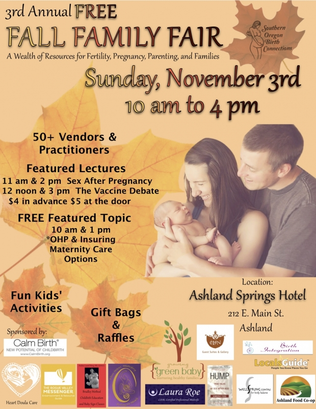 Register for a Booth at Fall Family Fair